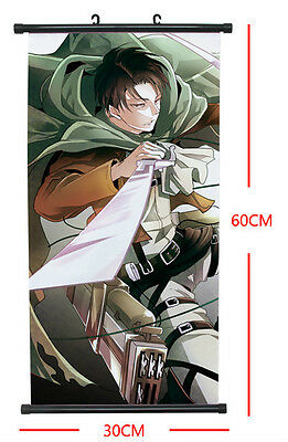 Shingeki no Kyojin Attack on Titan Anime Manga Wallscroll Stoffposter 60x30cm