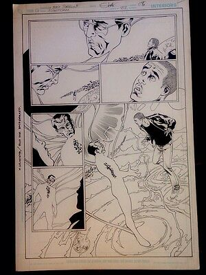 Original Comic Art Firestorm #22 page 5 (Eddy Barrows)