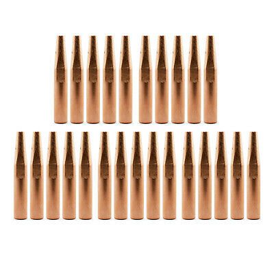 MIG Contact Tips - Long Life- 1.2mm Bernard Style- 25 pack - Conical 51mm - 4282