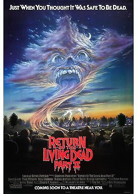 Return of the Living Dead Part 2 - A4 Laminated Mini Poster