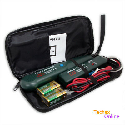 Telephone Phone Network RJ Cable Wire Line Tone Generator Tracer Tracker Tester
