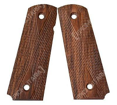 US Army M1911 / M1911A1 COLT PISTOL GRIPS - WW2 Repro 1911 Wood Handle .45 Cal