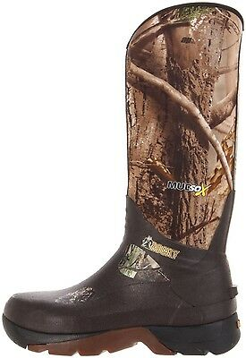Rocky MudSox 16'' Insulated Rubber Boot 800grams Size 8 Infinity Camo