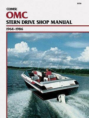 Clymer OMC Sterndrive Shop Manual 1964-1986