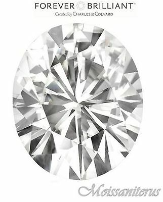 Loose Oval Forever Brilliant 8x6mm Moissanite = 1.50 CT Dia w/ warranty card