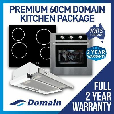 New Kitchen Appliance Package! Oven, Cooktop, Rangehood