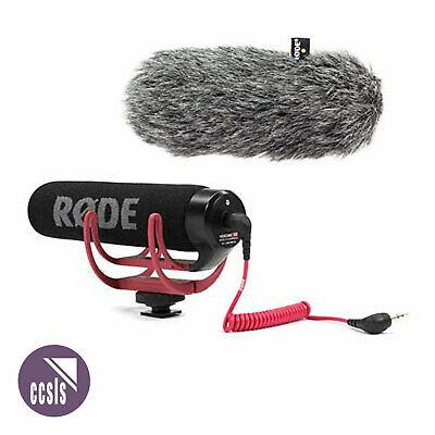 Rode Videomic Go - Lightweight On-Camera Microphone With Deadcat - Bundle