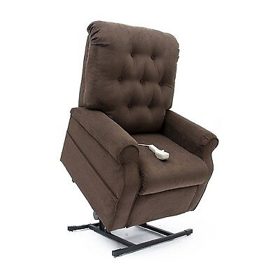 New Chocolate Easy Comfort LC-200 Power Electric Lift Chair Mega Motion Recliner