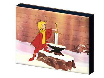 SWORD IN THE STONE DISNEY CLASSIC CANVAS PICTURE-3 SIZES TO CHOOSE A5 A4 A3