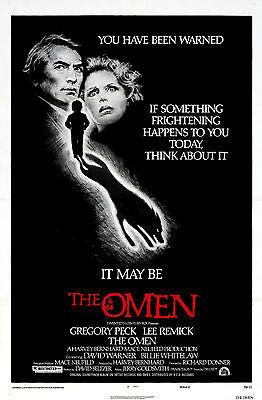 The Omen - Gregory Peck - A4 Laminated Mini Poster