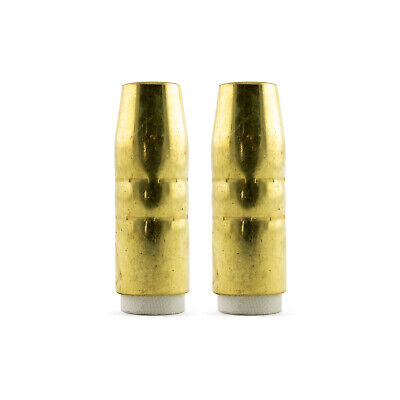 Bernard Style MIG Nozzle / Shroud 4392 Tapered Conical - 2 Pack - Long Life