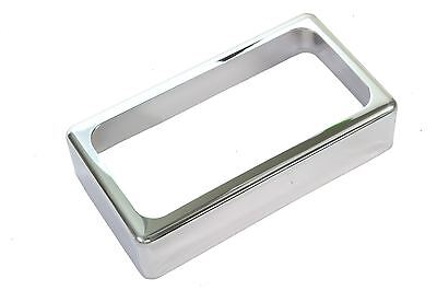 Open Humbucker Pickup Cover - Chrome