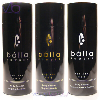 BALLA Powder Talc For Men - Invigorating Body Treatment, Refresher, Safeguard