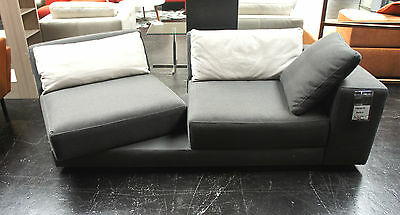 machalke 2 5er couch system plus stoff braun meliert. Black Bedroom Furniture Sets. Home Design Ideas