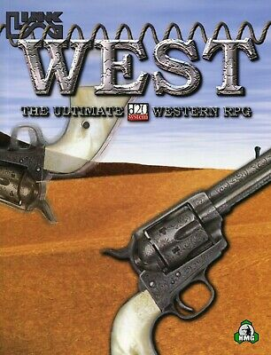 d20: West: The Ultimate Western RPG (New)