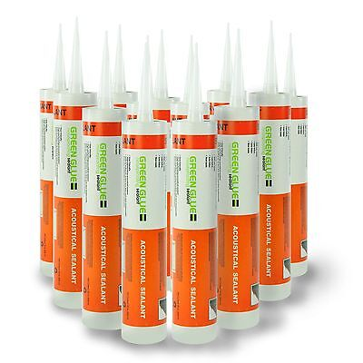 Green Glue Acoustical Sealant Caulk - Case 12 Tubes