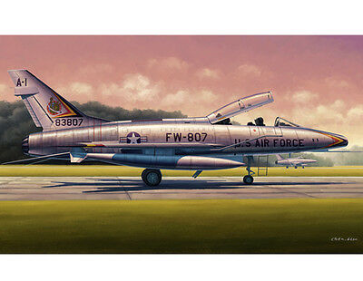 ◆ Trumpeter 1/48 02840 F-100F SUPER SABRE TOY MODEL KIT