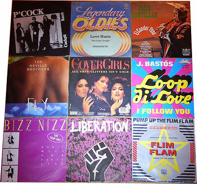 9 Singles. Internationale Labels. Pop,Rock, Folk
