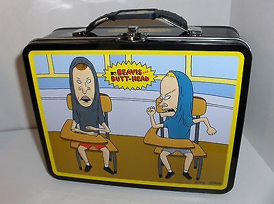 Beavis And Butt Head-Sitting In School At Desk.Metal Lunchbox`New`LooK>Free 2 US