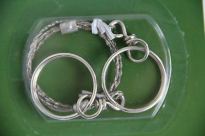 Commando - Wire Saw - Stainless Steel - Camping - Survival Tool - Emergency Army