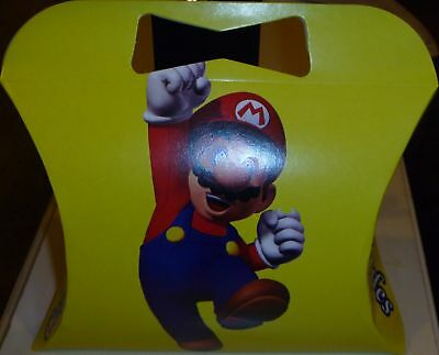 New Super Mario Bros Lunch Boxes Party Supplies
