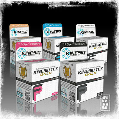Kinesio Tape Tex Gold - [All Colours] - Kinesiology Tape
