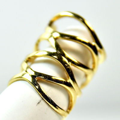 6 Pack Roman Numerals//Gold Hexagon//Chrome Leaf//Slim Gold//Rose Gold Rings Ns11