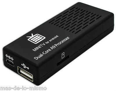 Android Smart TV L-Link LL-ATV-2 Reproductor Compacto 8GB HDMI Bluetooth WiFi