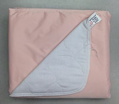 24-24x36 Washable Reusable Dog Training Puppy Pee Pads Piddle Potty PINK BACK