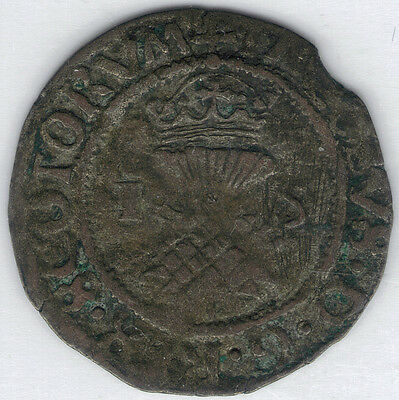 TMM* 1538-42 Scotland Billon Bawbee James V  Scotland  aVF approx 21-22MM