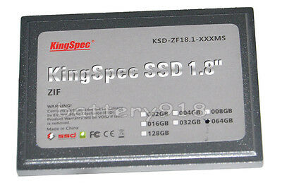 "Brand NEW 64GB SSD HDD hard drive 1.8"" ZIF MLC for CANON VIXIA HG10 camcorder"