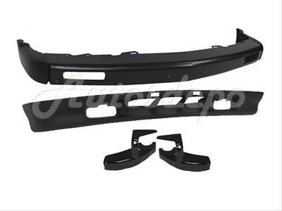 For 1994-97 Chevy S10 Ls 95-97 Blazer Front Bumper Impact Bar W// Molding Hole