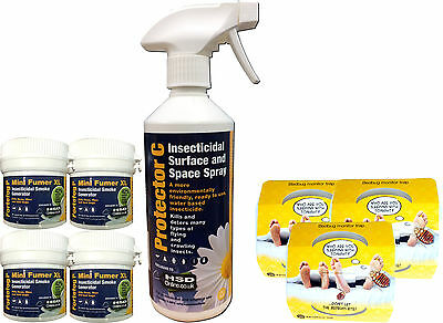 Bed Bug Killer Treatment Bedbug Spray Fume Fogger Kill Bedbugs Home Bed Bug Trap