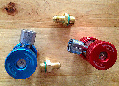 AC Air Conditioner Freon R134 Quick Coupler Adapter