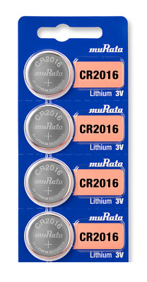 Sony CR2016 CR 2016 DL2016 3V Lithium Coin Batteries (4 Batteries) + Tracking