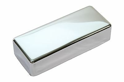 Mini Humbucker Pickup Cover Chrome plated nickel silver NO HOLES