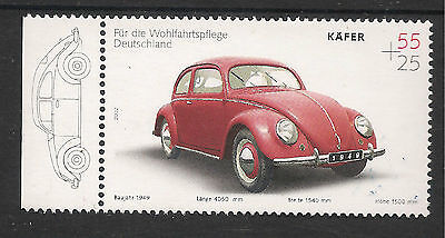 Germany VOLKSWAGON Stamp Issue Mint Never Hinged