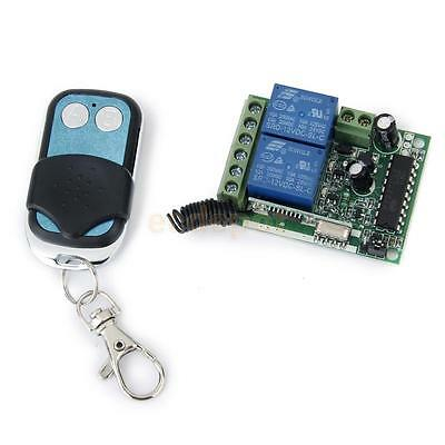 One 2-CH/ 2 Channel 315MHz RF Wireless Remote Controller Receive Board DC 12V