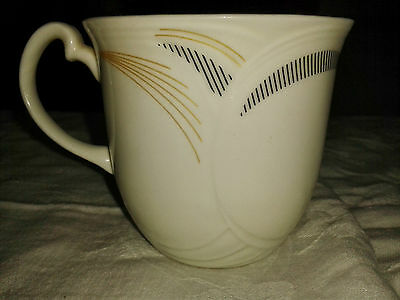 "Royal Albert Bone China, ""Graphica"" pattern tea cup, 1986"