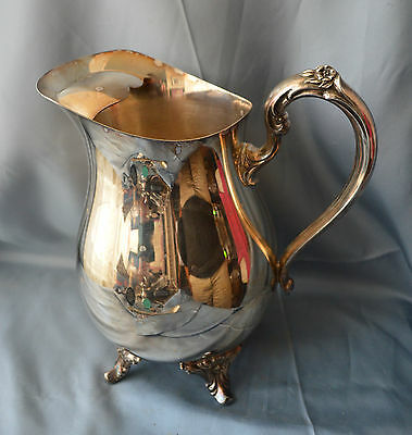 ONEIDA SILVER PLATE WATER PITCHER
