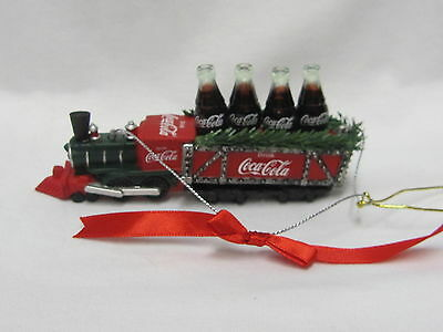 Coca-Cola Ornament Train - 2013 Kurt Adler - NEW