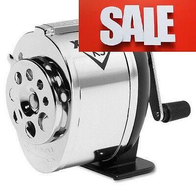 X Acto Table Wall Mount Hand Crank Pencil Sharpener Home School Office FREE SHIP