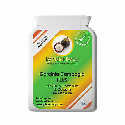 Garcinia Cambodia Pure Extra Strength  Detox-Fat Burner-Weight Loss-Diet