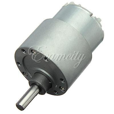 One Mini 12v Dc High Torque Gear Motor 300rpm For Hobby M25