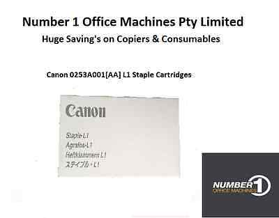 Canon 0253A001[AA] L1 Staple Cartridges 3-Pack