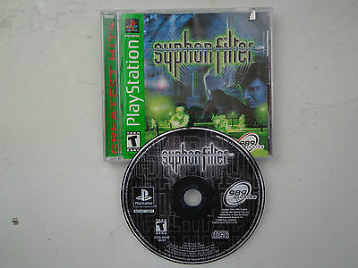 Syphon Filter  (Sony PlayStation 1, 1999) Complete PS1 Game!