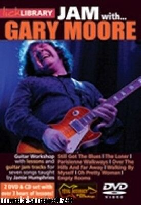 LICK LIBRARY Learn To Play JAM WITH GARY MOORE Still Got the Blues GUITAR DVD
