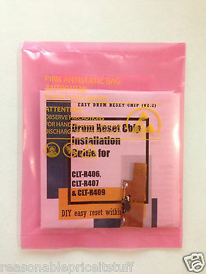 """Peel and Stick"" Drum reset chip for Samsung Xpress SL-C410W SL-C460W SL-C460FW"
