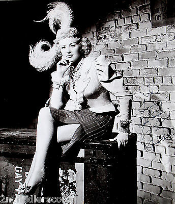BETTY GRABLE-Mega Rare 11x12 Autographed & Inscribed Photograph-Sexy Pinup Girl