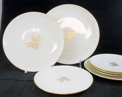 Lenox WHEAT Luncheon Plate, 2 Salads, 4 Bread plates R442 GREAT VALUE -used